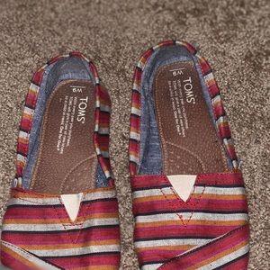 Multi striped Toms